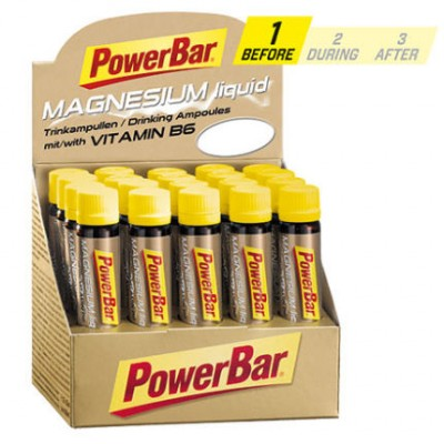 PowerBar Magnesium Ampoules box of 20 tubes