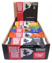 Mixed box of Mulebar energy bars