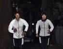 reflekterande löparkollektion från dhb